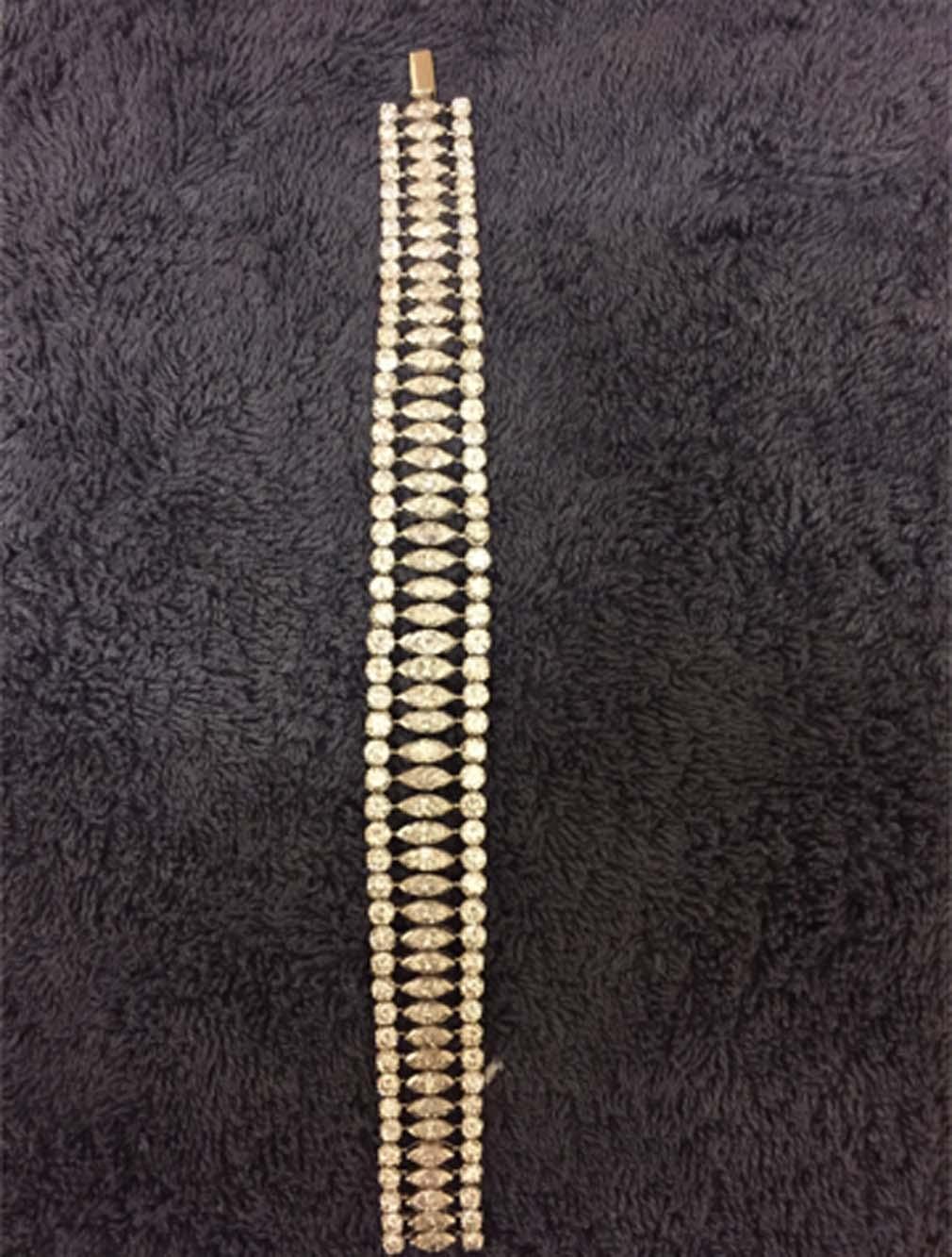 Narukvica bijelo zlato 40g, 30.4ct dijamanata