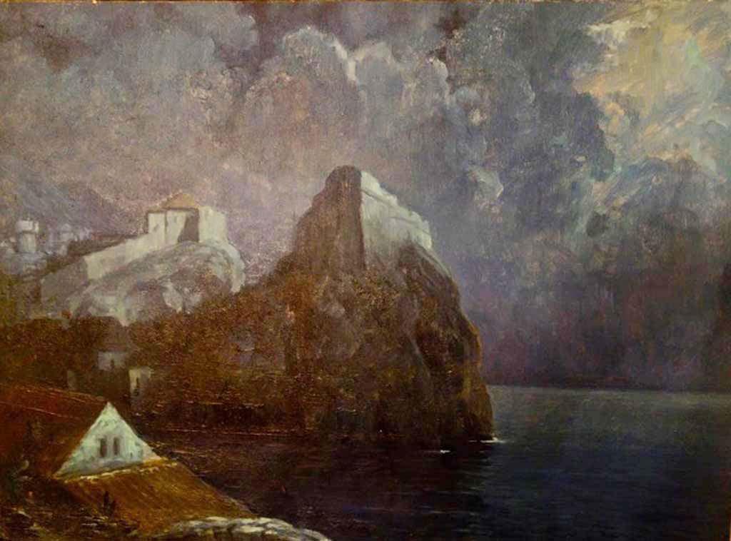 Dubrovnik noćni prizor