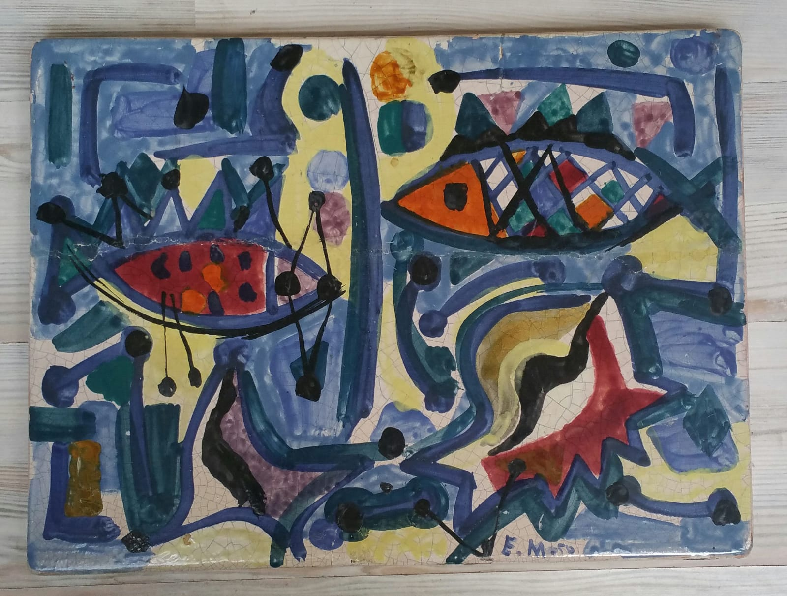 Divlje ribe iz 1950