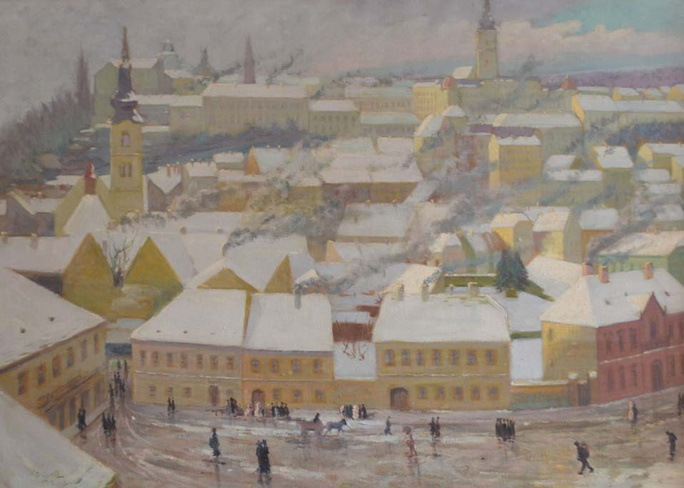 Zagreb pod snijegom