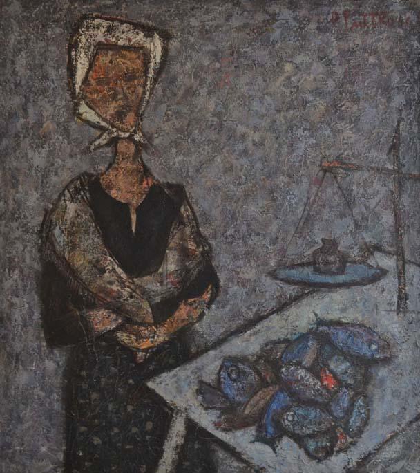 Žena i ribe