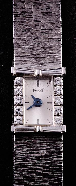 Ženski sat Piaget, platina, 10 dijamanata
